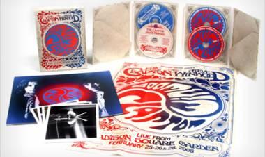 "El 26 de mayo de2009 se lanza ""Live from Madison Square Garden"" deEric Clapton y Steve Winwood"