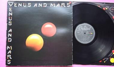 """El 27 de mayo de1975Wings edita el álbum """"Venus and Mars"""""""
