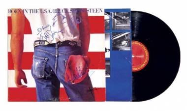 """El 4 de junio de 1984 se edita """"Born in the USA""""deBruce Springsteen"""