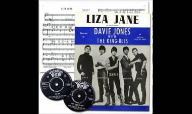 "El 5 de junio de 1964 se edita el primer single ""Lisa Jane"" Davy Jones & The King Bees"