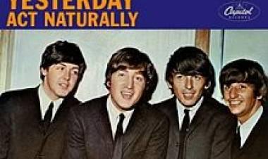 sabías que el 14 de junio de 1965 es la primera vez que un miembro de losBeatlesgraba una canción, para el propio grupo, como solista