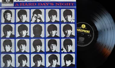 El 10 de julio de 1964 The Beatles publica 'A hard day's night'