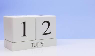 Efemérides de música de este 12 de julio