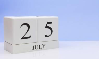Efemérides de música de este 25 de julio