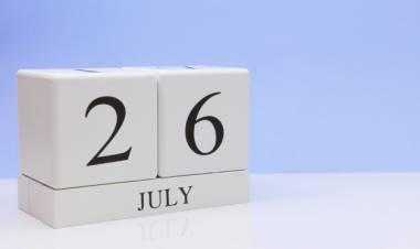 Efemérides de música de este 26 de julio