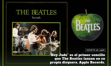 El 26 de agosto de 1968 se publica el single «Hey Jude»