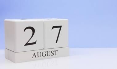Efemérides de música de este 27 de agosto