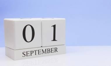 Efemérides de música de este 1 de setiembre