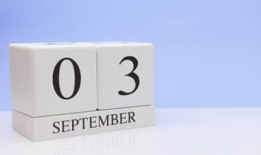 Efemérides de música de este 3 de setiembre