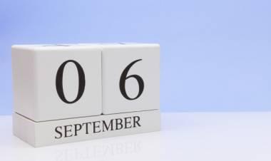 Efemérides de música de este 6 de setiembre