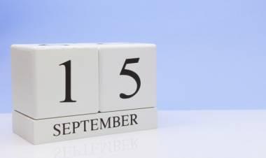 Efemérides de música de este 15 de setiembre