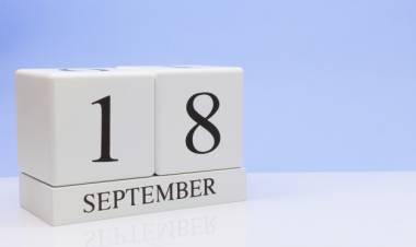 Efemérides de música de este 18 de setiembre