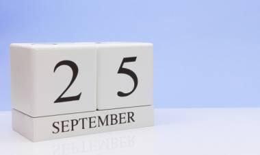 Efemérides de música de este 25 de setiembre