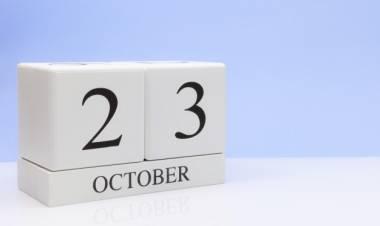 Efemérides de música de este 23 de octubre