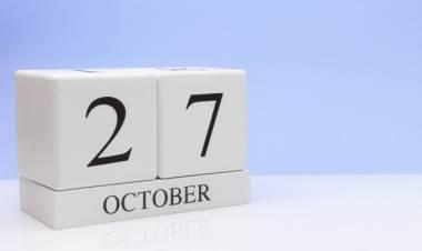 Efemérides de música de este 27 de octubre
