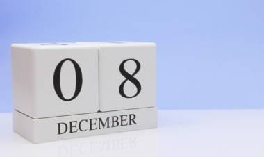Efemérides de música de este 8 de diciembre