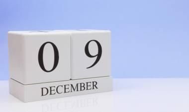 Efemérides de música de este 9 de diciembre