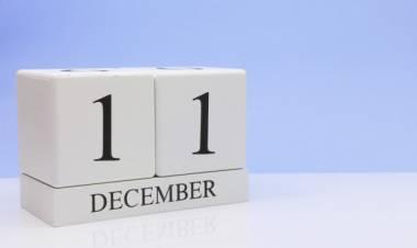 Efemérides de música de este 11 de diciembre