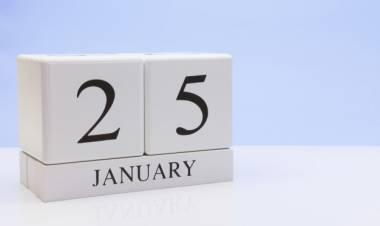 Efemérides de música de este 25 de enero