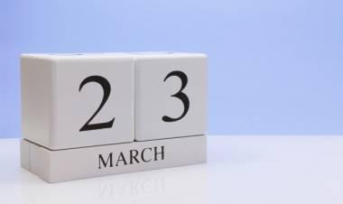 Efemérides de música de este 23 de marzo