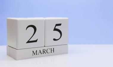 Efemérides de música de este 25 de marzo