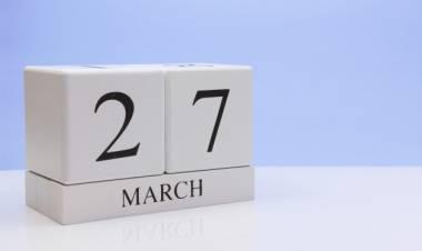Efemérides de música de este 27 de marzo