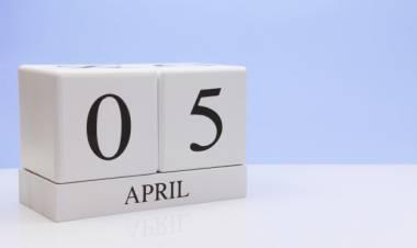 Efemérides de música de este 5 de abril