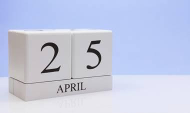 Efemérides de música de este 25 de abril