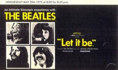 El 20 de mayo de 1970 se estrena en Inglaterra Let It Be