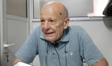 Jorge Spasich del Centro de industriales en el día del obrero panaderero