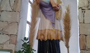El padre Matías Vecino, párroco de San Cayetano en la víspera de la celebración del santo del pan y del trabajo