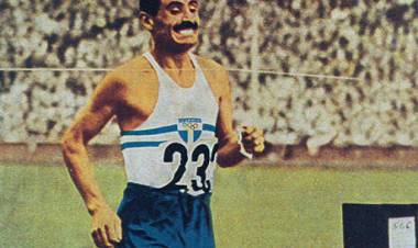 Delfo Cabrera, en el Día del Maratonista, a 72 años del triunfo de su padre en los JJ OO Londres