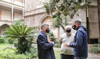 Franco Arone y la promoción de la Manzana Jesuítica en el casco histórico de Santa Fe