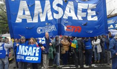Rodrigo Alonso y la segunda semana de reclamo de Amsafe ante la falta de respuesta del gobierno provincial