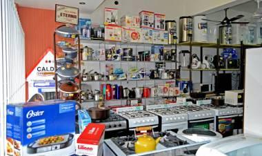 José Lilino y la falta de electrodomésticos para la venta al público