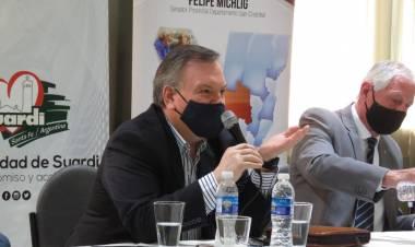 El Senador Michlig visitó Suardi y entregó aportes a instituciones de bien público