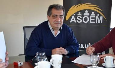 Juan Medina, secretario general de ASOEM y el rechazo a la propuesta de la paritaria municipal