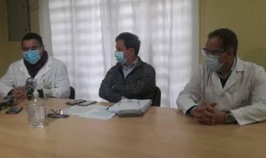 Juan José Barnetche y la actual situación epidemiológica en el Servicios Médicos de Santo Tomé