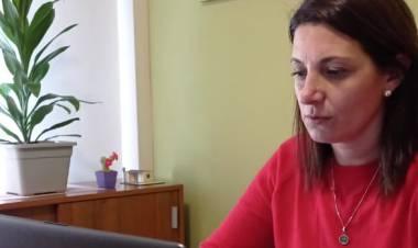 Betina Florito, presentó tres proyectos, la creación del Programa Velatorios Seguros y Dignos, reconocer con Diploma de Honor a los deportistas santafesinos y  una  iniciativa para que el Ejecutivo apure la licitación para culminar las obras en el CODE