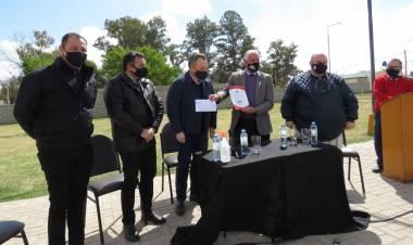 En la celebración de los 111° de la Fundación de Suardi, anuncian la instalación de 70 luminarias Led sobre calle 9 de Julio