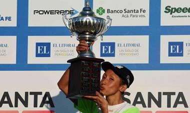 Cecilia Biagioli, primera mujer ganadora de la Río Coronda tras la sanción a Guillermo Bértola