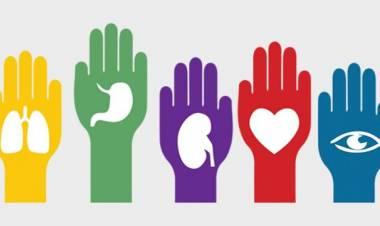 Martín Morejón en el día mundial de la donación de órganos para trasplante