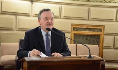 Felipe Michlig destacó la sanción de la Ley sobre la reforma de las ART que contempla una visión ecuánime y territorial