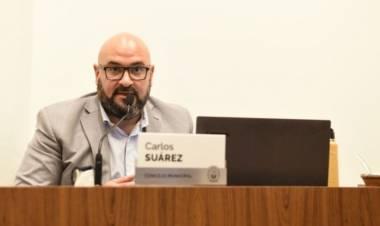 """Carlos Suárez: """"Es increíble que el Ente de Coordinación del Área Metropolitana no se haya reunido en todo el año"""""""