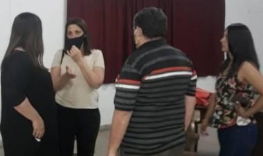 La diputada Betina Florito visitó barrio El Pozo