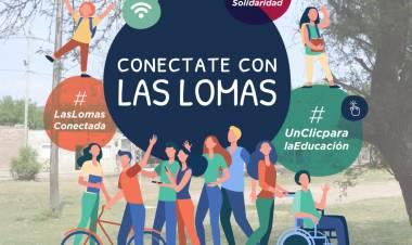 Un sueño colectivo en Las Lomas que busca acortar la brecha digital