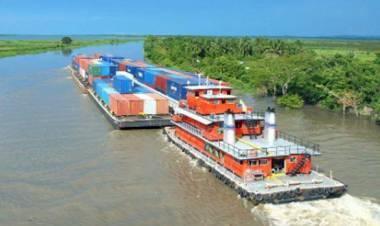 Julio González Insfrán y la necesidad de poner en marcha el comercio por la hidrovía