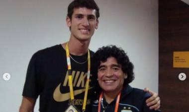 Germán Chiaraviglio recordó el apoyo permanente de Diego Maradona a los atletas olímpicos
