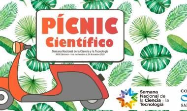 Paula Pochettino y el picnic científico en la semana de la ciencia
