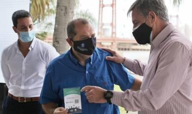 Franco Arone y la presentación de la campaña turística del verano en Santa Fe